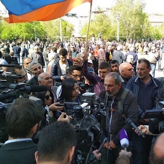 Muscari - Table-ronde révolution Arménie
